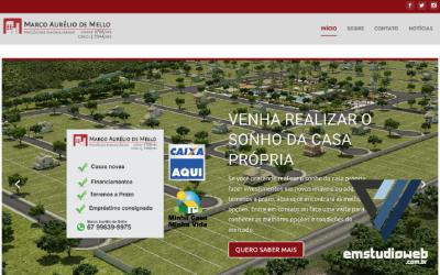 Criação de site imobiliário em Sidrolândia